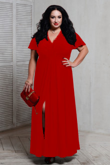 Платье 066203 ЛаТэ (Красный)